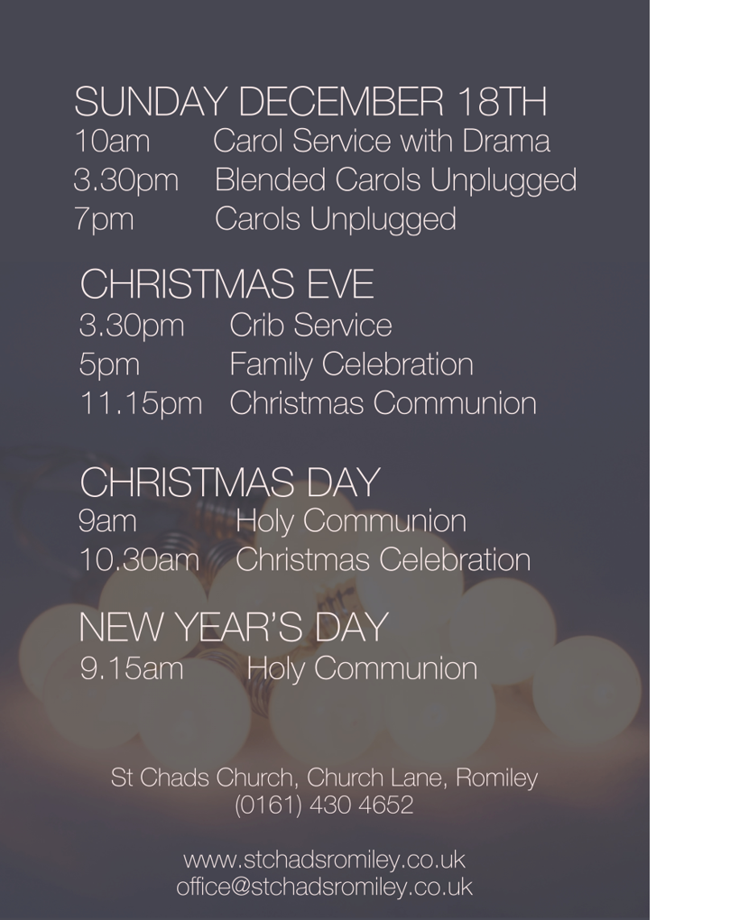 St Chad's Christmas Events