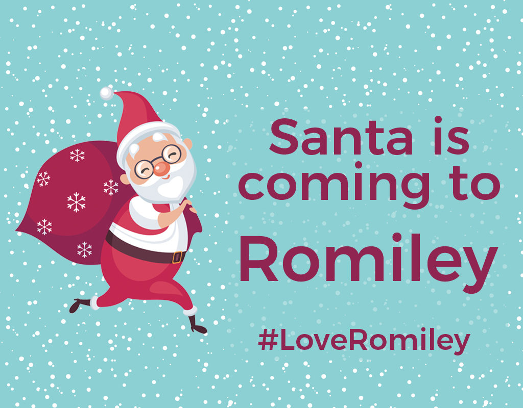 Santa is coming to Romiley