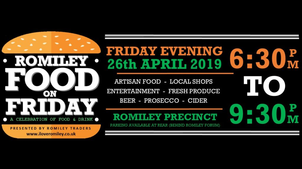 Romiley Food On Friday Flyer